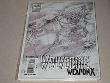 Wolverine Weapon X #1 1:100 Kubert Sketch Variant