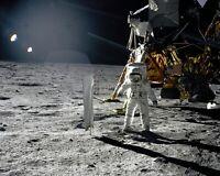 BUZZ ALDRIN APOLLO 11 ASTRONAUT ON MOON SURFACE - 8X10 NASA PHOTO (EP-234)