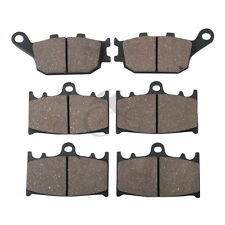 Front & Rear Disc Brake Pads Set For SUZUKI GSF 1250 S ABS BANDIT 2007