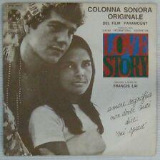 Love Story 45 tours Francis Lai 1971 Italie 2