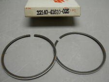 Suzuki NOS RM100, 1977-81, Piston Ring Set, o/s 0.25, # 12140-41610-025   S-31