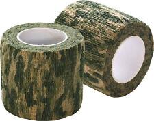 Stealth CAMO DESERT NASTRO riutilizzabile 50mm x 4.5 m Magnetici come PISTOLA Wrap RAP NUOVO