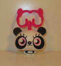 "2012 Shishi Panda 2"" Moshi Monsters Clip-On McDonalds #3 Action Figure Toy"