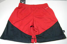 NIKE Air Jordan Dri Fit jumpman boys sz 6 Red gym shorts basketball NEW NWT