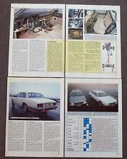 AD76 - Clipping-Ritaglio -1987- JAGUAR XJ6 2.9 , SOVEREIGN 3.6 , PROVE SU STRADA