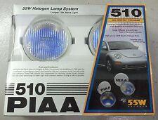 Volkswagen New Beetle PIAA Ion Crystal Halogen Fog Lamp Set