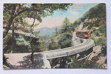 Old postcard BRIDGE NO. 15, MT. LOWE, CA