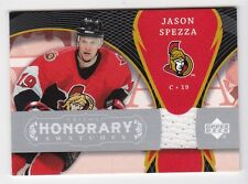 2007-08 NHL Upper Deck Trilogy Honorary Swatches Jersey # HS-JS Jason Spezza