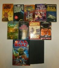 Lot of 11 Science Fiction,Star Wars,Star Trek,Dune,Orson Scott Card,C.J.CherryS7