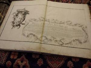 CARTA DEL BOLOGNESE, MODENESE, FERRARESE E ROMAGNA, BOLOGNA, 1742 - INCISIONI