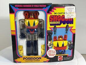"NIB Mattel SHOGUN WARRIORS  ""POSEIDON"" - Complete - 5"" DIE-CAST ACTION FIGURE"