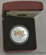 2012 Canada 1 Cent Farewell Penny Gold Plated 1/2 oz Silver Coin #coinsofcanada