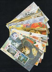 "SINGAPORE USED/CTO 1995 Complete Set of 10 Singapore ""95"" Minisheets"