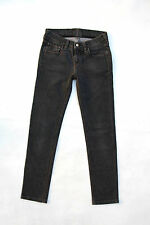 FAY da donna Jeans in Denim Gamba Dritta Grigio Stretch ITALIA w26 uk8 BUONO