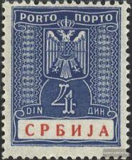 serbie (Allemand.occ.2.wk.) p12 neuf avec gomme originale 1942 Les timbres-poste
