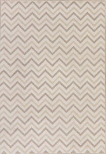 Chevron Chester Collection Turkish Contemporary Oriental Living Room Carpet 7x10