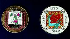 Soccer Referee Flip Coins. Kachina AYSO Region 503, AYSO Coin