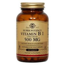 Solgar Vitamin B1 (Thiamin) 500mg - 100 Tablets