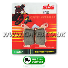 KTM 520EXC EXC 520 2000-2002 SBS 675SI Sintered Competition Rear Brake Pads