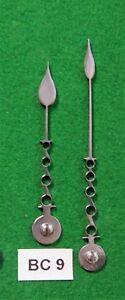 Antique clock steel hands, original design (Bracket clock) BC9 *Made in England*
