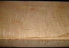 "1-7/8""x7-1/2""x42"" 8/4 Curly Figured Tiger Maple Lumber Wood Rift Sawn EM464B"