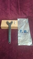 NOS T.A. Bottom Bracket Spanner and chain ring bolt tool w/ extra pins