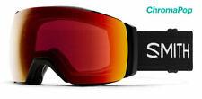 Smith IO MAG Snow Goggles Black Frame Sun Red Mirror & Low Light Lens