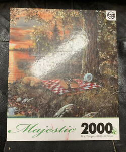 "Lakeside Rendezvous- Majestic Jigsaw Puzzle, 2000 Pieces 39"" X 27"""