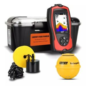 Portable Wireless Sonar HD Echo Sounder Fish Finder Fishing Tackle
