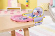 Zapf Creation Baby Born Feeding Chair Table Attachment Toy For 43cm Dolls