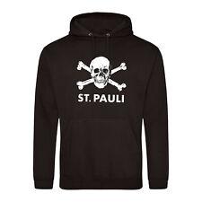 FC St. Pauli Ultras,Hooligans Retro Football Hoodie.Germany Bundesliga.UPTO 5XL