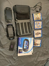 Sony PS Vita 8gb 3G & WiFi PCH-1101 w/ 4 games and 2 cases. Excellent Condition