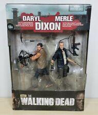 McFarlane The Walking Dead Daryl & Merle Dixon Action Figure Set NEW