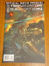 TERMINATOR SALVATION OFFICIAL MOVIE PREQUEL #3 RI COVER 2009 IDW