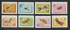 1977 North Vietnam Stamps Dragonflies Sc # 856 -63 MNH