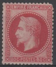 """FRANCE STAMP TIMBRE 32a """" NAPOLEON III 80c ROSE CARMIN"""" NEUF x SIGNE A VOIR M933"""
