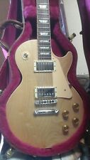 2001 Gibson Les Paul Standard Raw Power Guitar Natural Satin with case