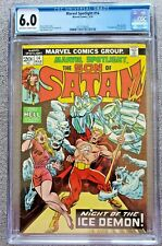 Marvel Spotlight #14 Son of Satan CGC graded 6.0 FN Mar 1974 20 cent Bronze Age