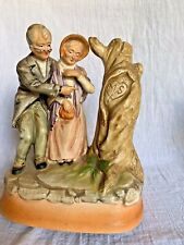 """Vintage Music Box """"Those Were the Days"""" Elderly Couple in Love"""