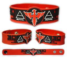 30 Seconds to Mars wristband rubber bracelet v4
