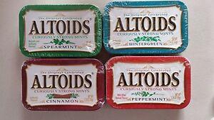 Altoids Strong Mints 75pc Cinnamon, Peppermint, Wintergreen, Spearmint U Choose