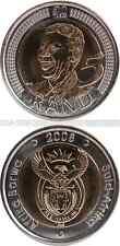 SÜDAFRIKA/SOUTH AFRICA/AFRIKA BORWA 5 Rand 2008 UNC (KM# 439) 'Nelson Mandela'