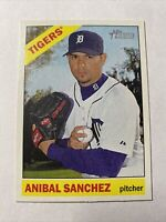 2015 Topps Heritage Baseball Anibal Sanchez Detroit Tigers Card #16