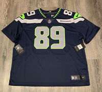 NWT Nike Doug Baldwin Seattle Seahawks #89 Vapor Limited Jersey 3XL Navy $150