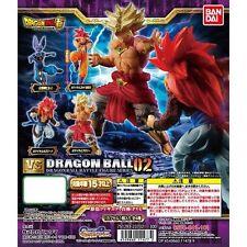 DRAGON BALL SUPER GASHAPON VS 02 BATTLE FIGURES FULL SET BANDAI NEW
