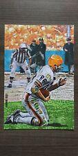 Gary Collins Custom 4x6 Art Card Cleveland Browns 1964 Champions