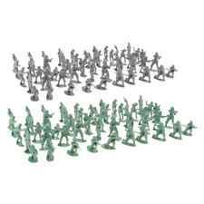 MagiDeal 200x Mini 2cm Army Soldiers Toy Military Figures Model Playset Toy