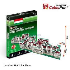 CubicFun 3D Paper Puzzle Model S3032H Hungarian Parliament Building DIY Toy 61pc