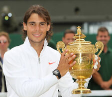 Rafael Nadal  10x 8 UNSIGNED photo - P366 - Grand Slam Tennis Champion