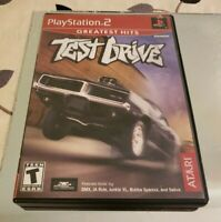 Test Drive Greatest Hits (Sony PlayStation 2, 2003) PS2 Complete